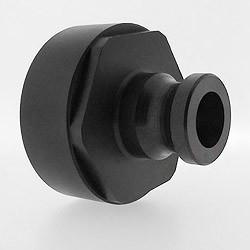 """IBC adapter S60x6 HDPE met 1"""" camlock aansluiting"""