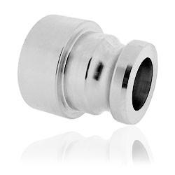 """IBC adapter S60x6 316 RVS met 2"""" camlock aansluiting"""